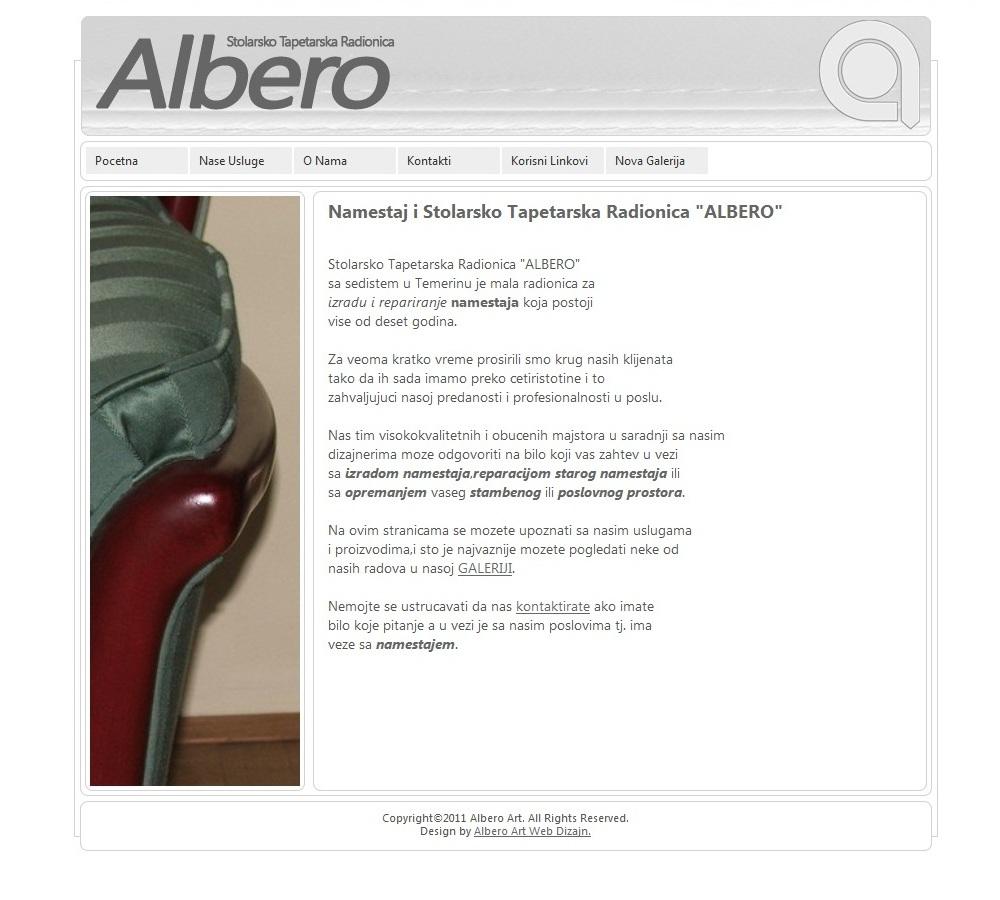 Namestaj Albero