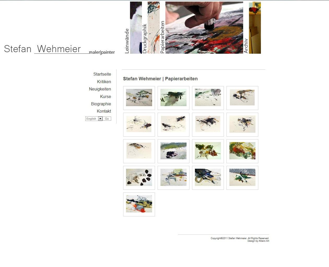 Web Dizajn za Stafan Wehmeier