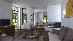 3d house interior 02