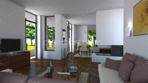3d house interior 01