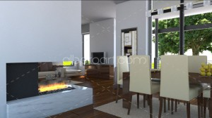 3d house interior