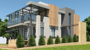 3d house exterijer