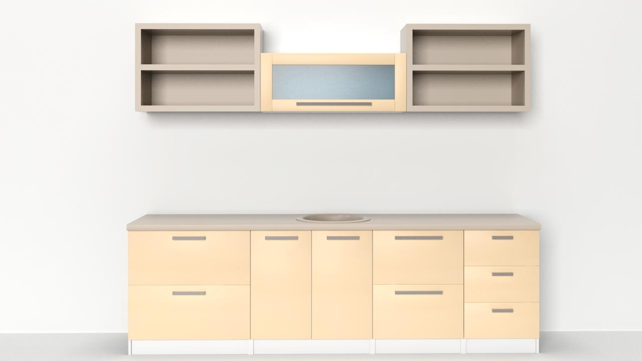 Kitchen Cabinet Creator | 3ds Max Script | Albero Art - English