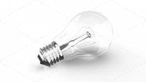 Lightbulb 3d
